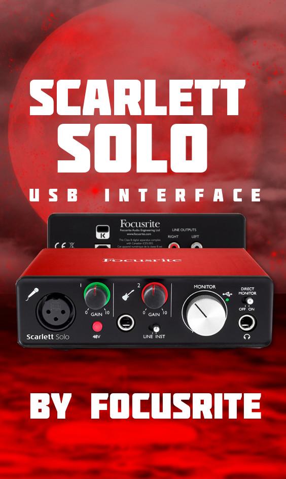 Focusrite Scarlett Solo Image Gallery